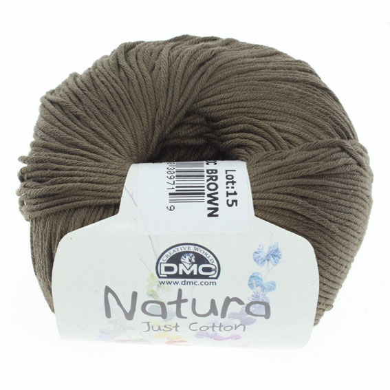 włóczka DMC Natura n22 tropic brown